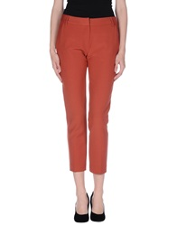Niu' Casual Pants Brick Red