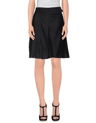 Fabrizio Lenzi Skirts Knee Length Skirts Women Black