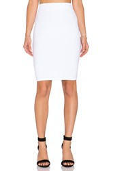 Susana Monaco Pencil Skirt White