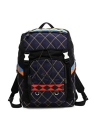 Prada Quilted Nero Backpack Baltico Black