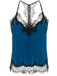 Gold Hawk Lace Trimmed Camisole 60
