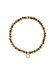 Northskull 'Tiger Eye' Bracelet Brown