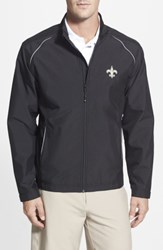 Cutter And Buck Men's Big Tall 'New Orleans Saints Beacon' Weathertec Wind Water Resistant Jacket