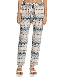 Eberjey Varadero Hudson Swim Cover Up Pants Multi