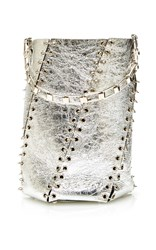 Proenza Schouler Medium Whipstitch Bucket Bag Silver