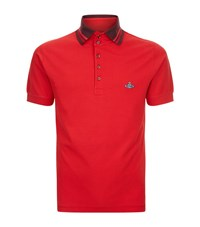 Vivienne Westwood Classic Orb Polo Shirt Male Red
