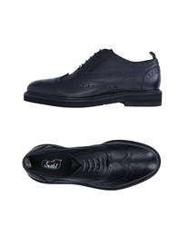 Snobs Footwear Lace Up Shoes Black