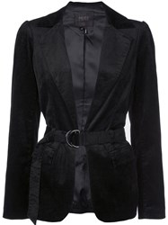 Paige Fitted Long Sleeved Jacket Black