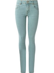 Amapa Five Pocket Skinny Jeans Green