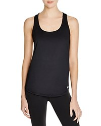 Under Armour Fly By Mesh Trimmed Racerback Tank Black