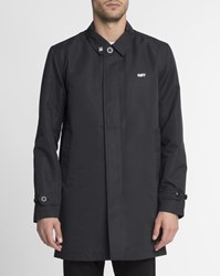 Obey Black Sneaky Trench Coat