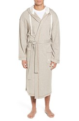 Majestic International Men's Vintage Space Cadet Robe Cocoa