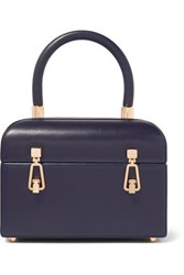 Gabriela Hearst Patsy Textured Leather Tote Navy