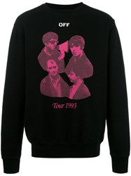 Off White Tour 1993 Sweatshirt Black