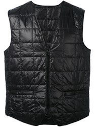 Stutterheim Padded Vest Men Nylon Polyester L Black