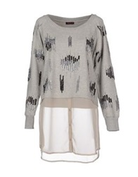Angelina Sweatshirts Grey