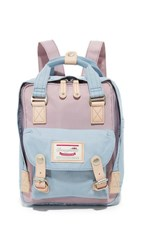 Doughnut Mini Macaroon Backpack Lilac Light Blue