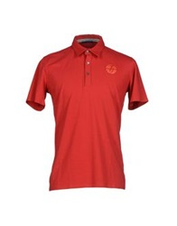 Trussardi Jeans Polo Shirts Red