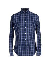 Mazzarelli Shirts Shirts Men Green