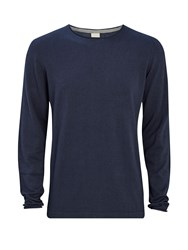 Bench Men's Xenial Crew Neck Jumper Total Eclipse