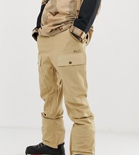 Dc Shoes Asylum Ski Trousers In Beige