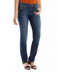 Lucky Brand Sweet N Straight Jeans Tanzanite