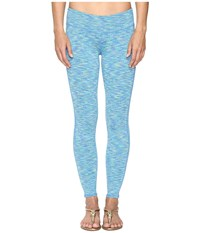 Lilly Pulitzer Weekender Leggings Brilliant Blue Space Dye Women's Casual Pants