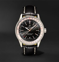 Breitling Navitimer 1 Automatic 41Mm Stainless Steel And Alligator Watch Ref. No. A17326211b1p2 Black