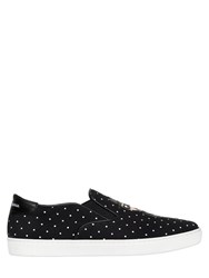 Dolce And Gabbana Designers Canvas Slip On Sneakers
