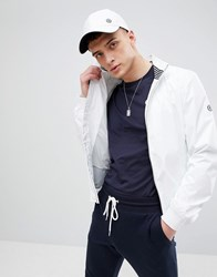 Henri Lloyd Darton Tech Bomber Jacket In White