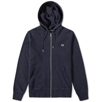 Fred Perry Loopback Hooded Sweat Blue