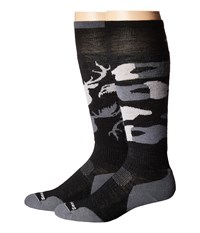Smartwool Phd Slopestyle Light Revelstoke Black Men's Knee High Socks Shoes
