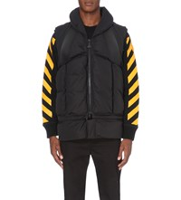 Moncler X Off White Quilted Gilet Black