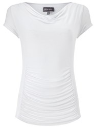 Phase Eight Stella Capped Sleeve Top White