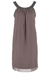 Esprit Collection Cocktail Dress Party Dress Dark Nougat Brown