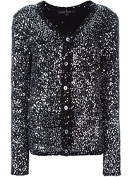 Marc Jacobs Sequin Embellished Cardigan Black