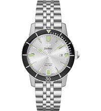 Zodiac Zo9255 Super Sea Wolf 53 Compression Stainless Steel Watch