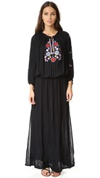 Melissa Odabash Sienna Maxi Dress Black