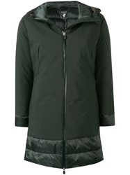 Save The Duck Padded Hooded Coat Green