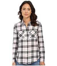 Vans Masika Flannel White Women's Long Sleeve Button Up