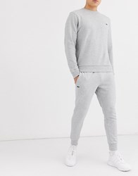 Lacoste Sport Slim Fit Basic Joggers In Grey