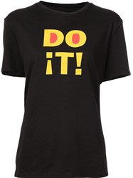 6397 Do It Boy T Shirt Black