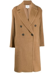 Vince Woven Double Breasted Coat 60