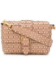 Red Valentino Flower Puzzle Bag Nude And Neutrals