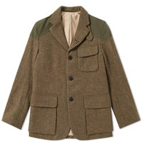 3e257205df1 Nigel Cabourn Authentic Mallory Jacket Green