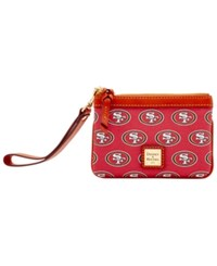 Dooney And Bourke San Francisco 49Ers Exclusive Wristlet Red