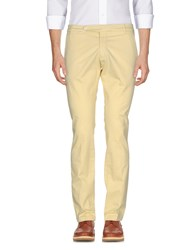 Michael Coal Casual Pants Light Yellow