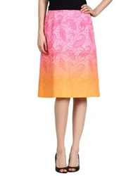 Jonathan Saunders Knee Length Skirts Pink