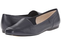 Bandolino Liberty Navy Leather Women's Shoes Blue