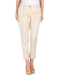 Tonello Trousers Casual Trousers Women Beige